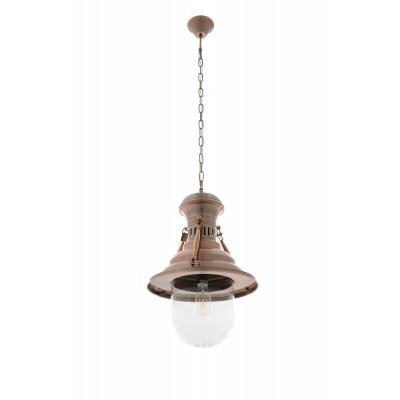 LANTERN lampa wisząca miedź P143 RBE