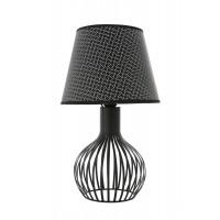 PELLO lampa stołowa czarna T8189